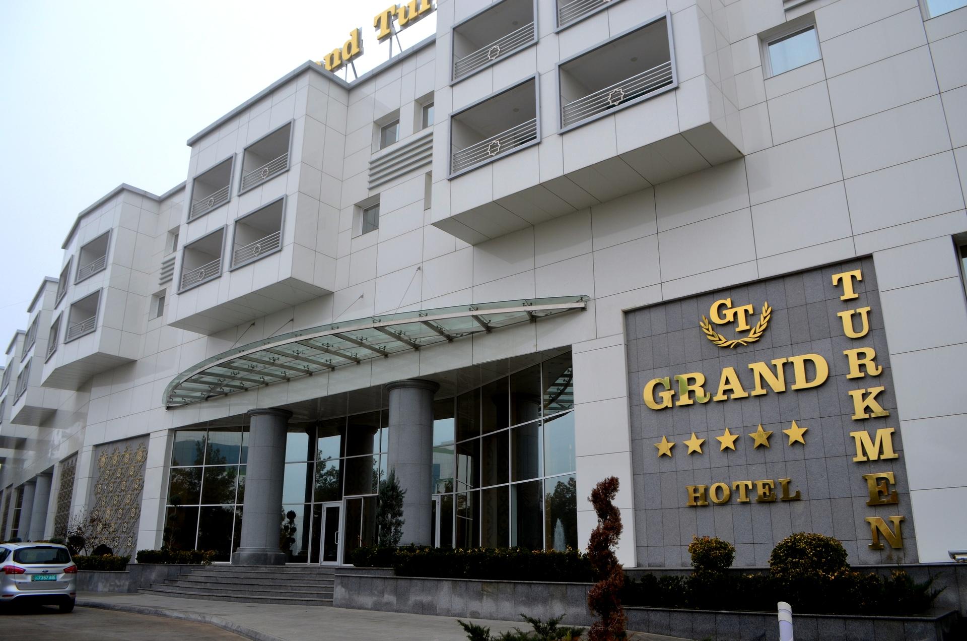 Grand Turkmen Hotel Ashgabad Turkmenistan