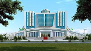 Dashoguz Library Turkmenistan