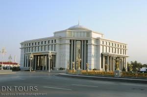 Nusay Hotel, Ashgabat Turkmenistan