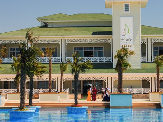 Yelken yacht club, Avaza, Turkmenbashi, Turkmenistan