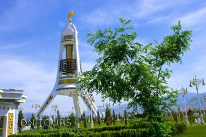 Monument of Neutrality Ashgabat Turkmenistan (2)