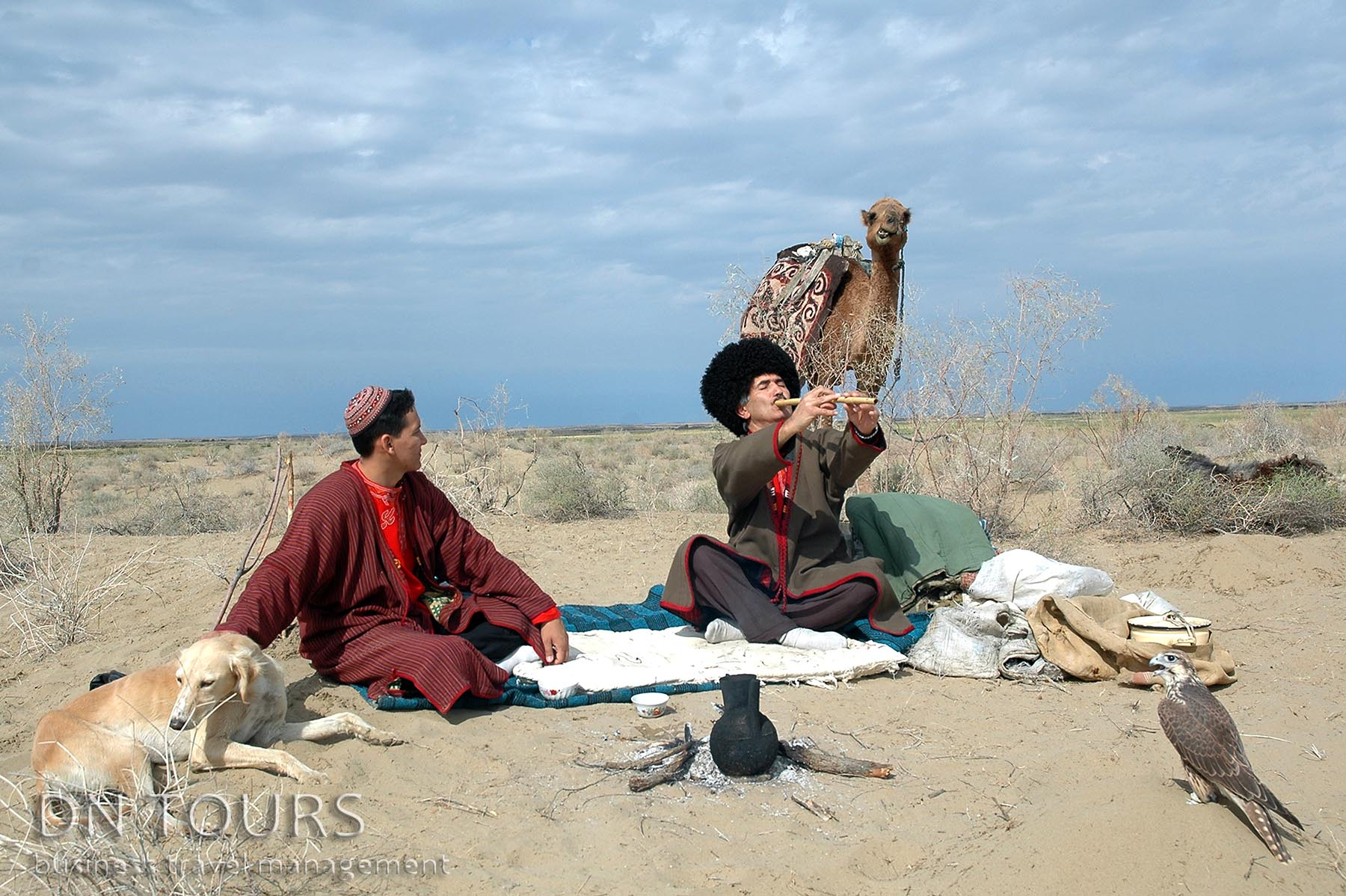 National features of turkmen, Turkmenistan