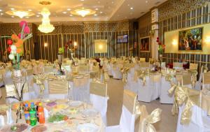 Ak Aktyn Hotel, Banquet Hall, Ashgabat Turkmenistan