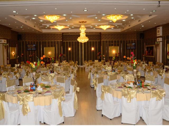 Banquet Hall, Ak Altyn Hotel, Ashgabat, Turkmenistan