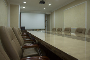 Conference Room, Grand Hotel, Ashgabat Turkmenistan