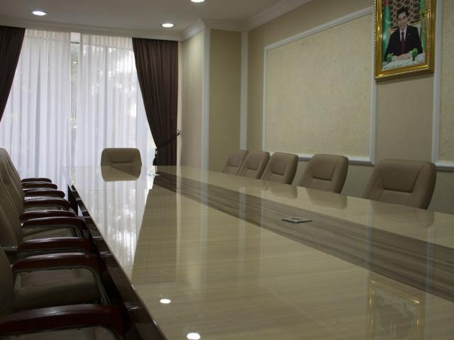 Conference room, Grand Turkmen Hotel Ashgabat, Turkmenistan