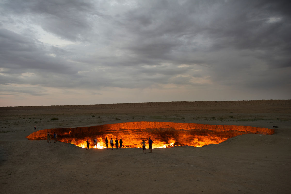Darvaza, Door to hell, Hell gates, Turkmenistan