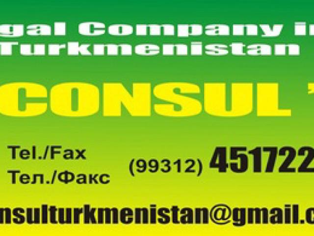 Legal Company, Consul, Ashgabat, Turkmenistan