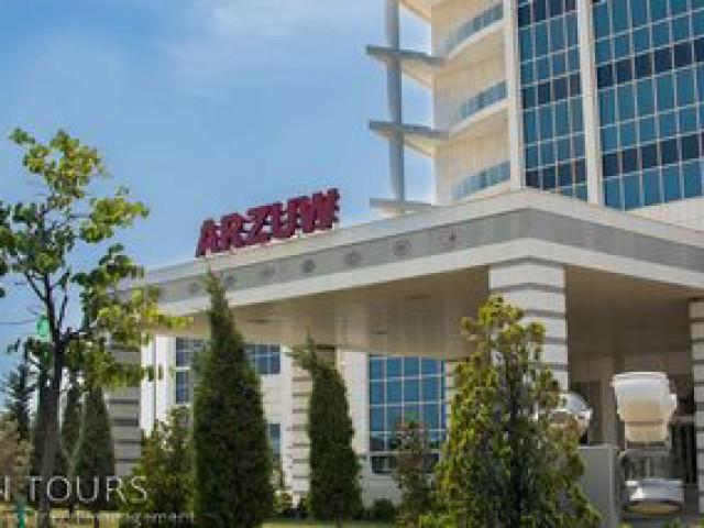 Arzuw Hotel, Awaza, Turkmenbashi city, Turkmenistan