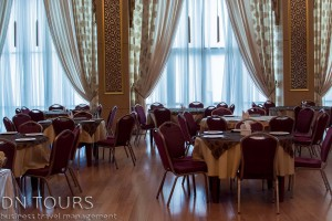 Arzuw Hotel restaurant, Avaza, Turkmenbashi Turkmenistan (2)