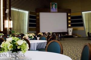 Berkarar Hotel, conference hall, Avaza, Turkmenbashi, Turkmenistan