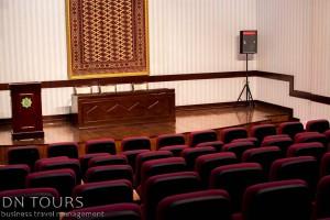 Charlak Hotel, conference hall Turkmenbashi city, Turkmenistan (3)