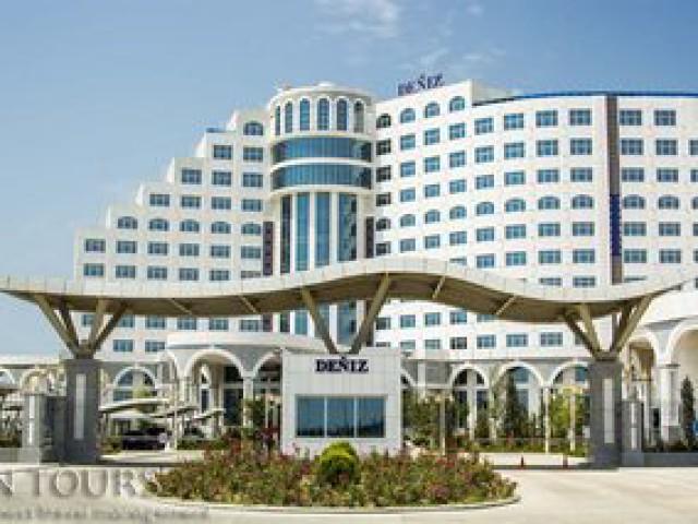 Deniz Hotel, Awaza, Turkmenbashi city, Turkmenistan