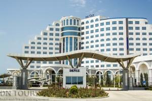Deniz Hotel, Avaza, Turkmenbashi city Turkmenistan