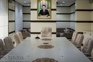 Deniz Hotel, Conference hall, Avaza, Turkmenbashi city Turkmenistan (3)
