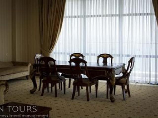 Conference room, Nebitchi Hotel, Avaza, Turkmenistan