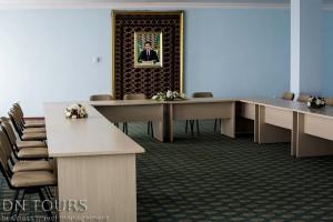 Nebitchi Hotel, conference room, Avaza, Turkmenbashi city, Turkmenistan (2)