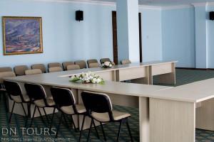 Nebitchi Hotel, conference room, Avaza, Turkmenbashi city, Turkmenistan