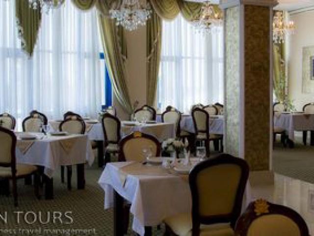 Restaurant, Nebitchi Hotel, Avaza, Turkmenistan