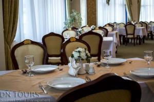 Nebitchi Hotel, restaurant, Avaza, Turkmenbashi city, Turkmenistan