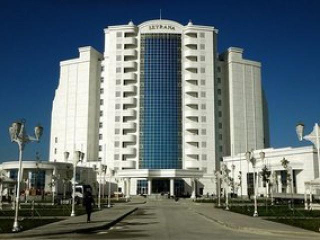 Seyrana Hotel, Awaza, Turkmenbashi city, Turkmenistan
