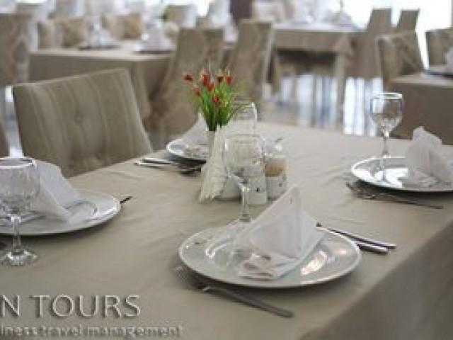 Restaurant, Seyrana Hotel, Awaza, Turkmenbashi city, Turkmenistan