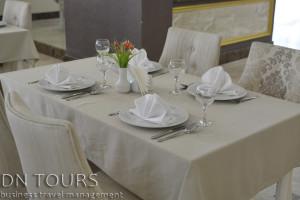 Restaurant Seyrana Hotel, Avaza, Turkmenbashi city, Turkmenistan (2)