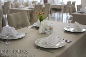 Restaurant Seyrana Hotel, Avaza, Turkmenbashi city, Turkmenistan