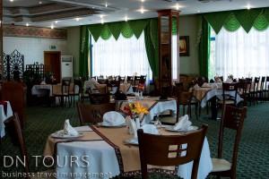 Turkmenbashi Hotel, restaurant, Turkmenbashi city, Turkmenistan