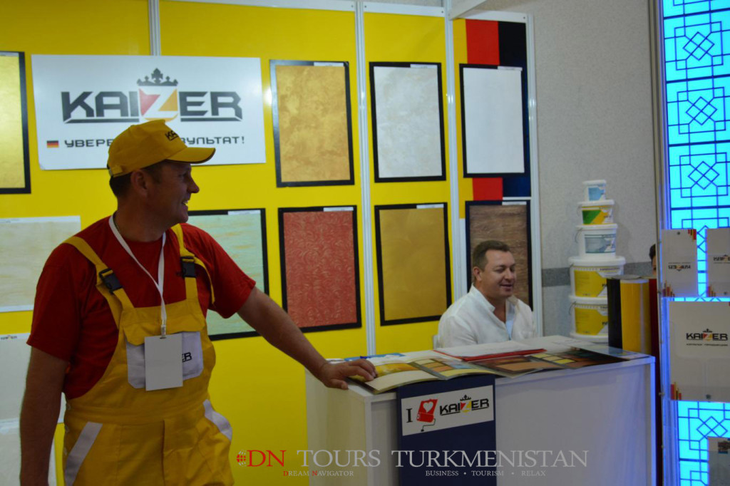 International Construction Conference and Exhibition in Turkmenistan, Ashgabat 2014