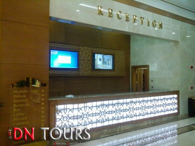 Dashoguz Hotel Turkmenistan Reception