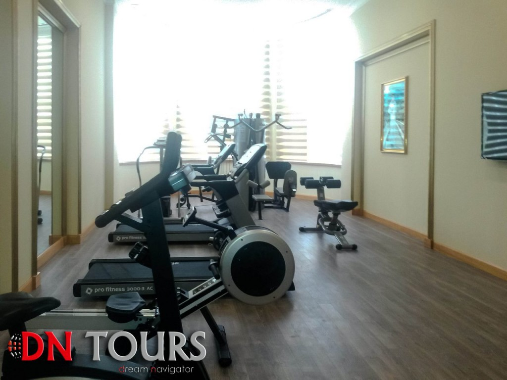 Mary Hotel, Turkmenistan Fitness Center
