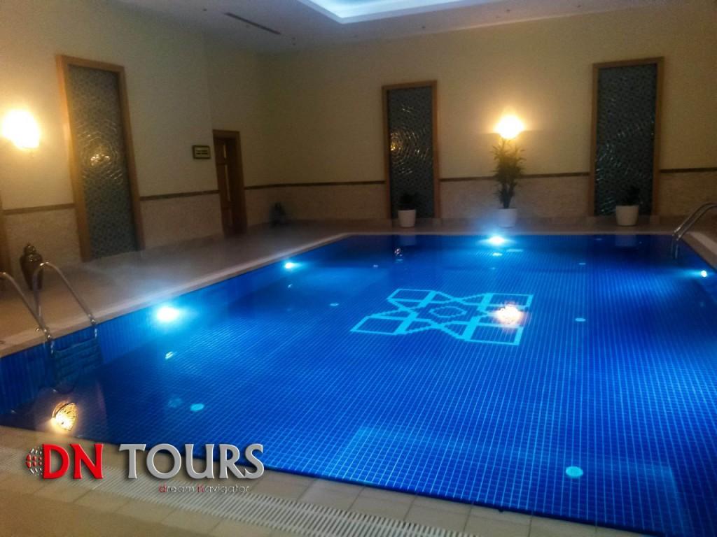 Mary Hotel, Turkmenistan Pool