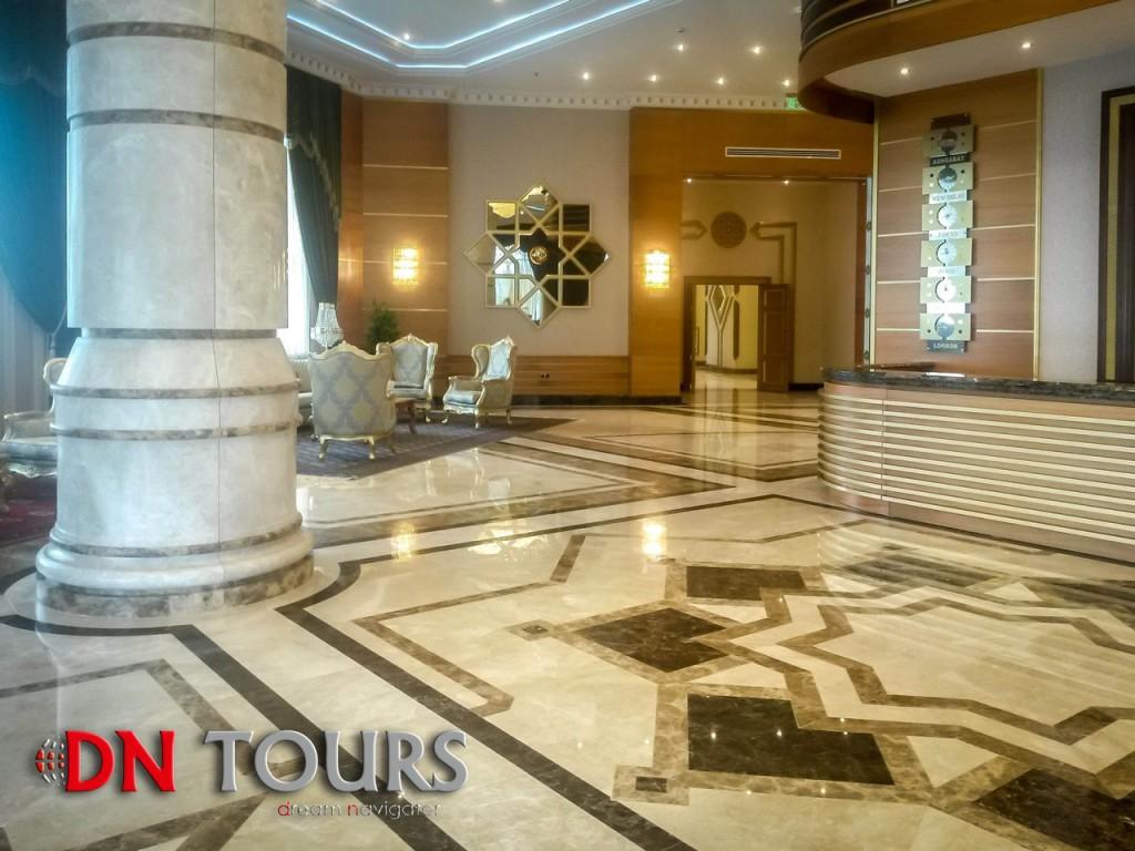 Mary Hotel, Turkmenistan Reception