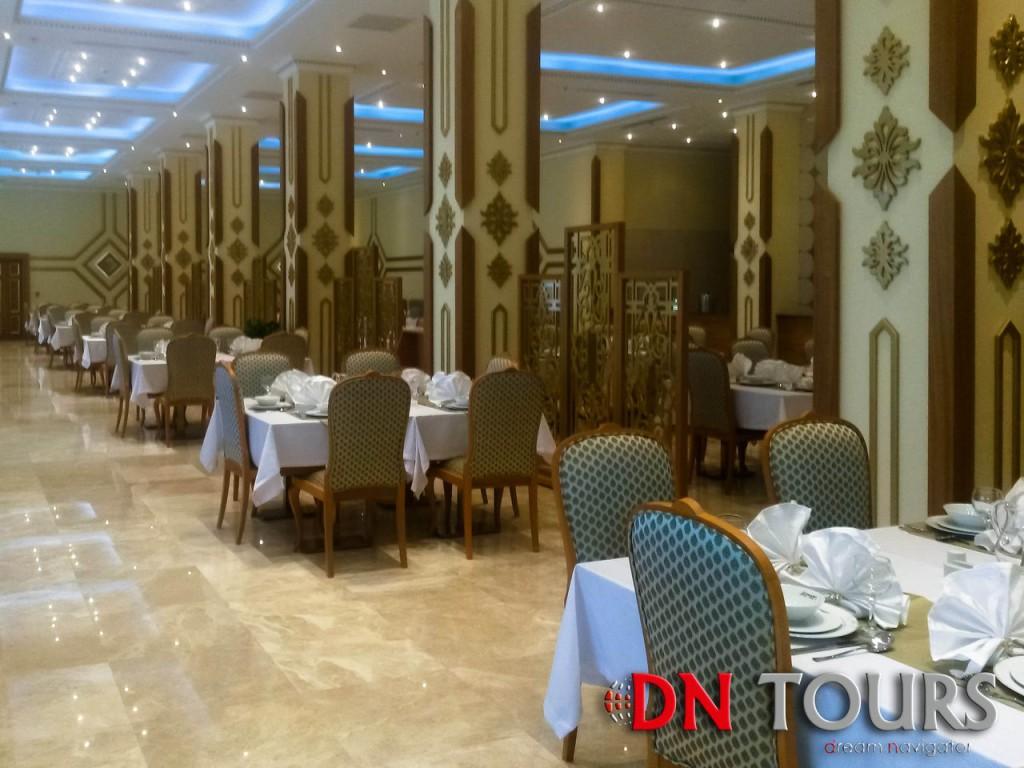 Mary Hotel, Turkmenistan restaurant