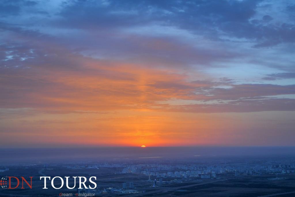 Ashgabat in the morning