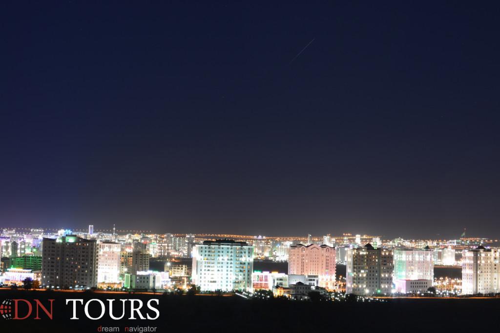 View at Ashgabat