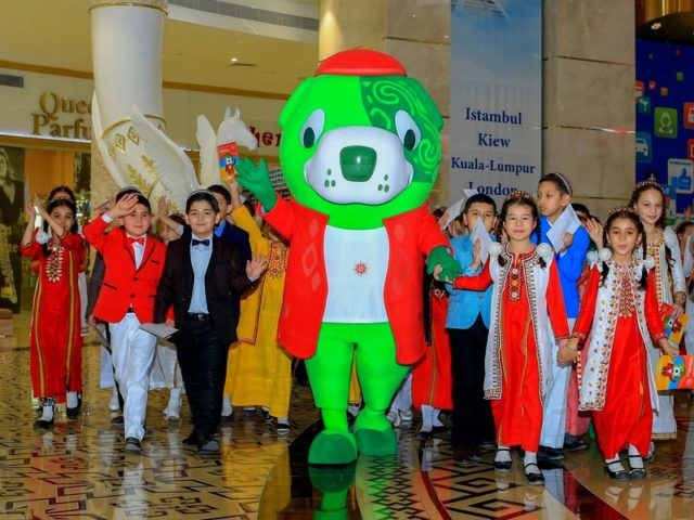Introducing the Ashgabat 2017 Mascot with 200 days to go
