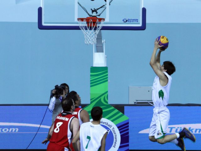 «Gold» and «silver» of Turkmen basketball players