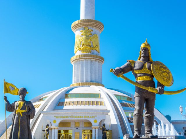 Capital of Turkmenistan - Ashgabat