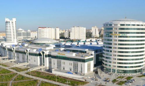 Ashgabat Berkarar Shopping center
