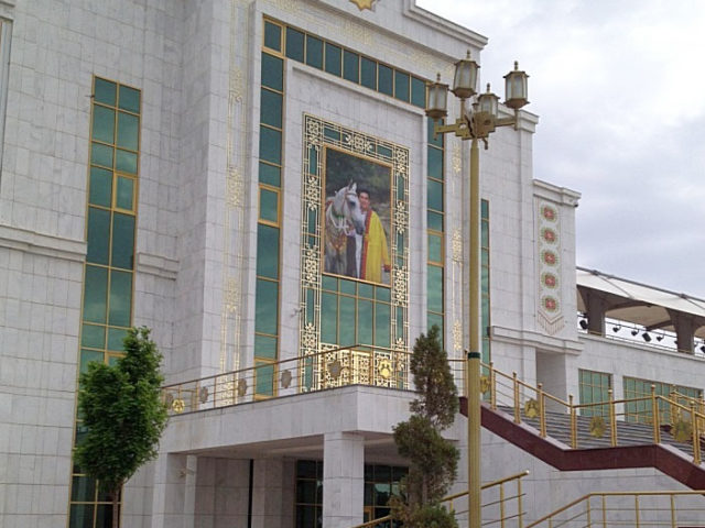 "Equestrian center ""Bedev"", 12km from Bayramali, Turkmenistan"