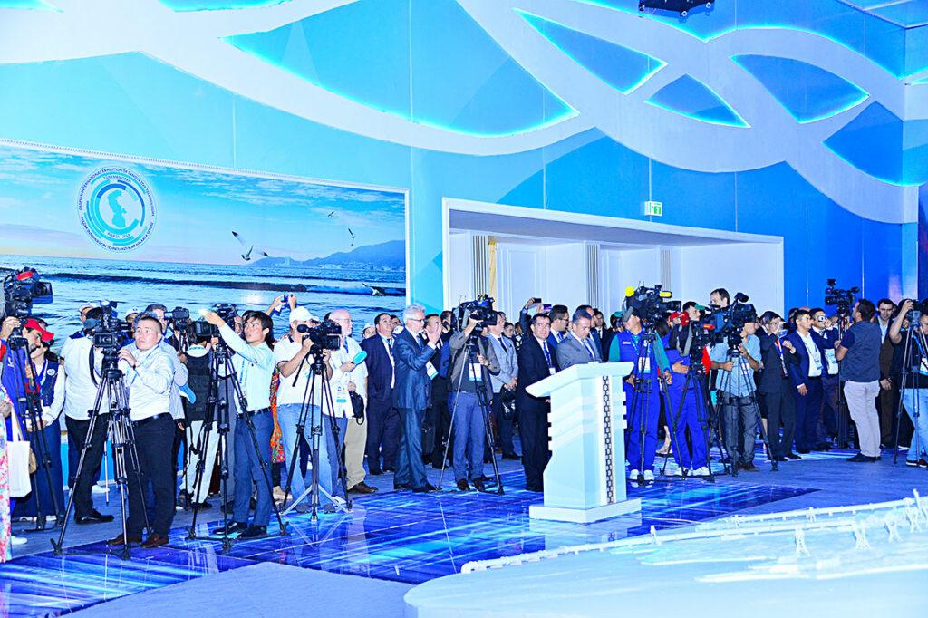 I CEF 2019 Caspian Economic Forum, Turkmenbashi city, Turkmenistan
