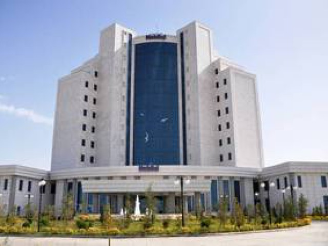 Nebitchi Hotel, Awaza, Turkmenbashi city, Turkmenistan