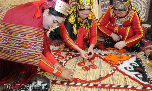 Handmade products, folk art Turkmenistan