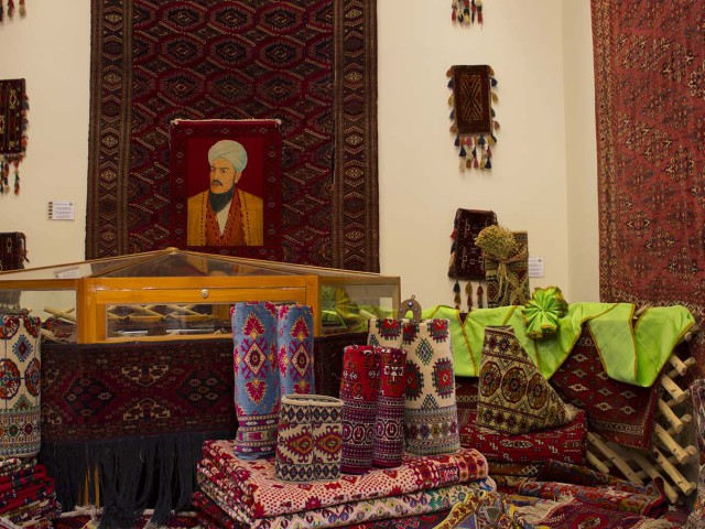 Exhibition: Turkmen carpet – sample the beauty of our growing homeland