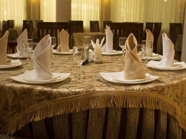 "Ak Altyn Hotel, Restaurant ""Continental"", Ashgabat, Turkmenistan"