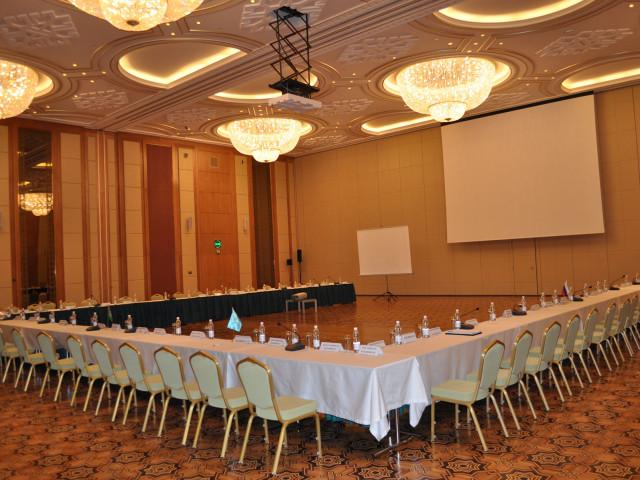 Conference Hall, Yyldyz Hotel Ashgabat Turkmenistan