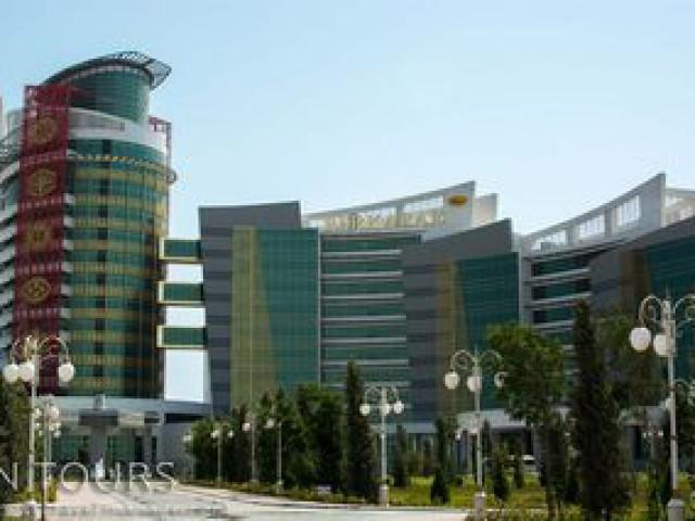Berkarar Hotel, Awaza, Turkmenbashi city, Turkmenistan