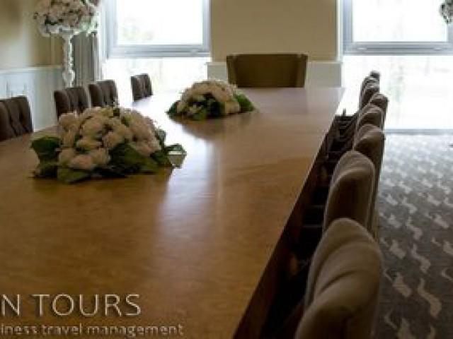 Conference room, Seyrana Hotel, Awaza, Turkmenistan